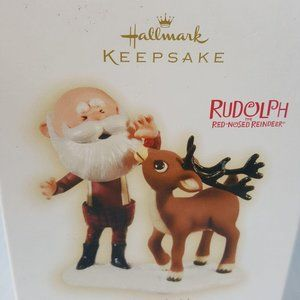 Hallmark Santa's Bright Idea Ornament Rudolph 2009